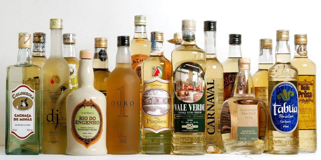 Cachacas brazilian drink